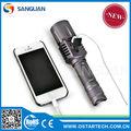 Precio de venta al por mayor linternas usb gadgets electrónicos sg-uf01