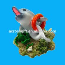 Polyresin Playful Dolphin