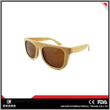 new design vogue wood or bamboo polarized wholesale sunglasses