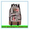 Cheap funny School backpack fashinable school bags newspaper bag