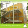 Modular Green Prefabricated Houses Light Steel Villa for Sale