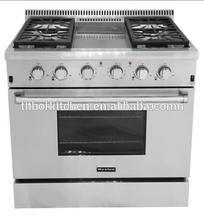 36 inch 120V Luxury indoor Gas Cooker Kitchen Appliance