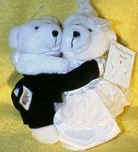 cuddle soft gift plush bear, cuddle soft gift wedding bear, cuddle stuffed wedding bear