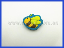 2d small insect shaped rubber eraser,promotional gift for children