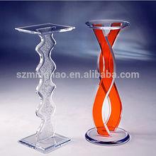clear acrylic pedestal/acrylic podium/acrylic rostrum