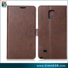 Alibaba wholesale wallet leather cellular case for samsung galaxy note 4