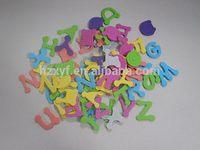 Eva alphabet 3d adhesive children stickers