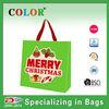 shopping bag pp non woven gift bag for christmas festival