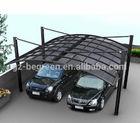 6m*5.5m double carport, car port covers, metal carports for sale