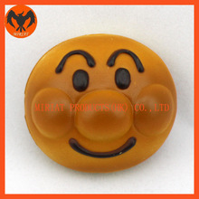 Newest mini plastic figures oval shape small size gift