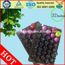China SGS / FDA certificação plástico descartável alimentos congelados bandeja