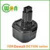 Replacement Battery for Dewalt DE9036 DE9061 DW9061 DE9062 DW9062 Power Tool Battery