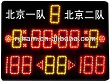 outdoor wireless basketball/table tennis/football led digital scoreboard