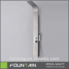 high quality brass shower panel installation