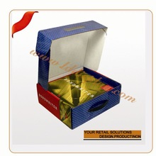 OEM cardboard packaging boxes printing metallic cardpaper chocolate packaging boxes