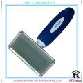 ( m) pr80041-1 nuevo diseño de la hoja iónica de perro y el gato cepillos para todo tipo de animales domésticos