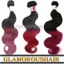 Hot Selling 3 Bundles Red Brazilian Hair Weave Cheap Virgin Brazilian Hair Weave