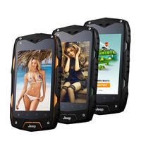 "4.0"" IPS Screen Jeep Z6 IP68 Waterproof Dustproof Shockproof Smart Phone MTK6572 Dual Core 4GB ROM 3G Jeep Z6 mobile phone"