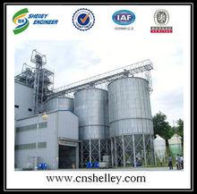 barley paddy wheat seed silo