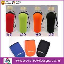 gun shape can cooler silicone rubber pack beer bottle holder neoprene stubby holder for beer