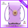 china online shopping new trends fashion ladies wallet with leather strap and diamond