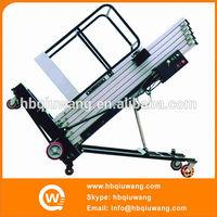 Single pole lift up mechanism