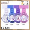 quartz plastic nurse watch with safe pin nurse hanging watch pin nurse watch