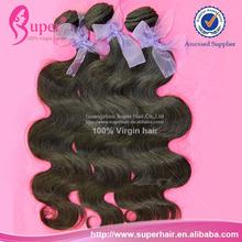 Human hair weaving ponytail,permanent short hair,malaysia body wave virgin hair