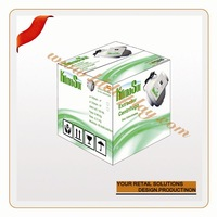OEM skinny silicone belts with plastic box cd/dvd packaging box