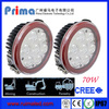Made in China,Multifunctional car accessory fit for utv parts 70w LED working lights
