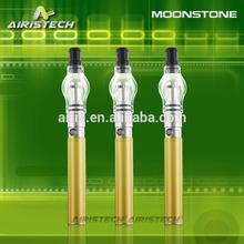 Amazing heating effect moonstone vaporizer kit ego battery with fashionable bulb attachment custom vaporizer pen