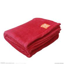 polyester satin trim blanket blanket