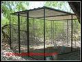 porcellana produzione pieghevole giardino esterno uccello metallico voliera