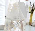 Hotsale dubaï. broderie tissu de rideau pour la décoration intérieure