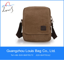 China supplier messenger bag customized fashionable korean canvas bag