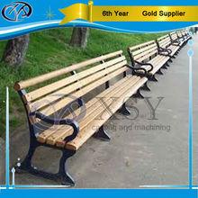 Classic garden Wooden Cast Iron chairs