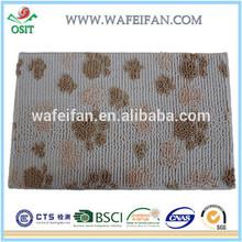 chenille microfiber bathroom brand colorful striped carpet