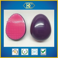 Purple wound solid light hair brush
