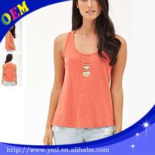 100 percentage cotton tshirt woman cheap promotional