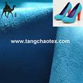 Sapatos de camurça azul com tecido de camurça made in china