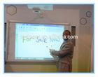 education equipment interactive smart board for smart classroom