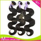 Double layer strong weft virgin brazilian hair 3 bundle