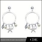 Wedding Invitations Dangler Earrings
