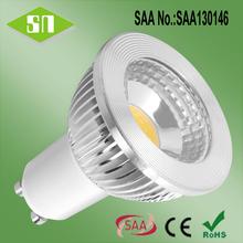 china led lighting warm white 2700K 3000K 5w gu10 dimmable led lamparas