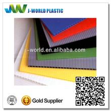 2014 new plastic ESD e flute corrugated board 4x8 manufacturer