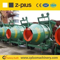 Electric Motor 48V 7KW Concrete mixer JZC500 from China Zhengzhou factory