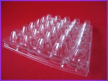 2014 Best price clear plastic quail egg container