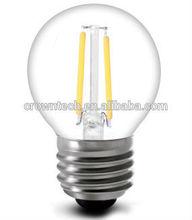 2014 cob filament light led bulbs 1.6w e26 LX-G45E26-2C1