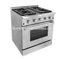 Hot Sale 30 Inch American Kitchen 120V Gas Cooking Range