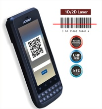 Programmable barcode scanner with 1D /2D barcode scanner Android 4.1.2 OS (IP65,4000mAh battery )